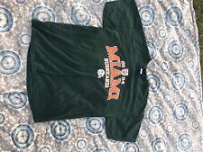 Vintage 2004 AS Sports Miami Hurricanes Orange Bowl NCAA Football Size Large Tee