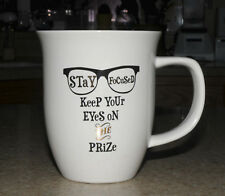 STAY FOCUSED Keep Your Eyes On Prize Coffee Cup Life Mug Motivational Nice Gift