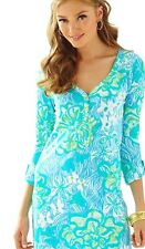 NWOT Lilly Pulitzer Palmetto VNeck Wave Rider Size S