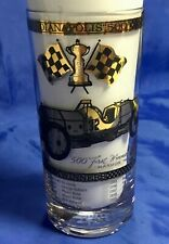 Indianapolis Indy 500 Vintage 1964 GOLD FILLED Drinking Glass MARMON WASP New!