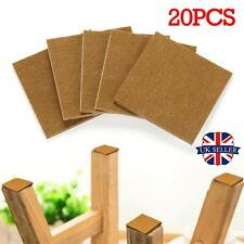 Solid Oak Wood Protection Laminate Floor Furniture Protector Felt Pads x 20 Set