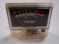 TEAC 355 Stereo Cassette Deck VU Meter