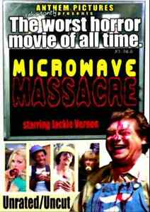Microwave Massacre 1979 - Worst Horror Movie of all Time? - Jackie Vernon - DVD