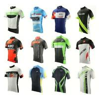 New mtb bike Bike Mens Cycling Jersey Short Sleeve Shirts Bicycle Clothing M-3XL