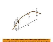 MITSUBISHI OEM 02-07 Lancer Roof-Drip Molding Right MR520288