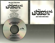 CHEMICAL BROTHERS Dig your Own Hole USA 97 ADVNCE PROMO CD w/ OASIS Beth Orton