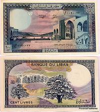 LIBAN Billet neuf de 100 LIVRES Pick66d  Le CEDRE DU LIBAN BEIT ED DIN 1988