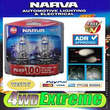 NARVA HB4 GLOBES UPGARDE PLUS 100 12V 12 VOLT 51W 48344BL2 LIGHTS HEADLIGHTS CAR