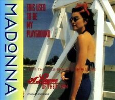 MADONNA This Used to Be My Playground Single  CD Jul-1992, Wea/Wb 3 track Long