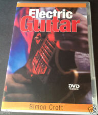 Simon Croft ELECTRIC GUITAR INSTRUCTIONAL DVD In Slightly Used Shape with Case