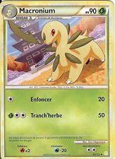 """Carte Pokemon """" MACRONIUM """" Heartgold Sousilver PV 90  35/123 UNCO  VF"""