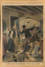 AGRESSION BANDITS A 5 KM DE AUCH GERS MONSIEUR ET MADAME PIERRE BARIE 1902