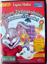 Jeu PC - CD-Rom - Lapin Malin CP : Turbulence à Edenville !  5 à 7 ans
