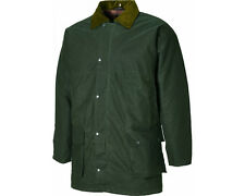 Dickies Westfield Mens Wax Agri Jacket Bottle Green - SPECIAL OFFER