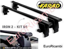 BARRE PORTATUTTO TETTO FARAD IRON130 BS120 X FORD KUGA 5P DAL 2013 IN POI