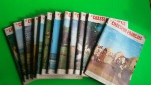 ANCIENNES REVUES LE CHASSEUR FRANCAIS (12 num) ANNEE COMPLETE 1972 TRES BON ETAT