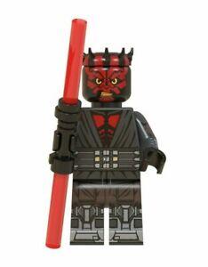 Darth Maul Mini Figure Star Wars Type Lego Mini Figurine personnalisée