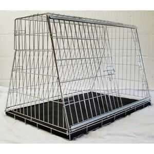 """36"""" Sloping Dog pet puppy travel training cage crate transporter guard kennel"""