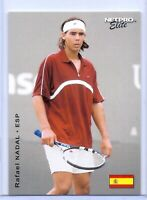 """RAFAEL NADAL 2003 NETPRO """"1ST EVER PRINTED"""" SPAIN EVENT EDITION ROOKIE CARD #E27"""