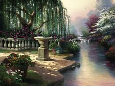HOUR OF PRAYER PP CNV 25.5X34 THOMAS KINKADE *ALSO GET A FREE TK LIMITED EDITION