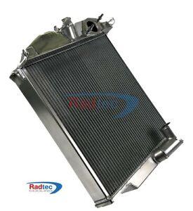 Jaguar XK 120 alloy radiator by Radtec