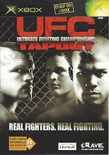 UFC ULTIMATE FIGHTING CHAMPIONSHIP TAPOUT for Xbox - PAL