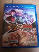 Street Fighter X Tekken For Playstation PS Vita PAL UK