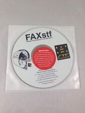 Apple Mac - FAX STF software 1998 Unopened Disc STF Technologies