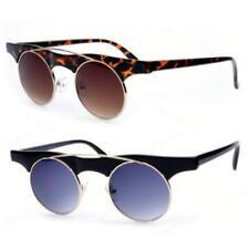 Gafas de sol de hombre redondos de metal