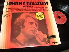 JOHNNY HALLYDAY<>LE DISQUE D'OR VOL.3<>Lp Vinyl~France Pressing<>IMPACT 6886 158