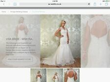 Designer wedding dress