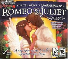 Chronicles of Shakespeare ROMEO & JULIET Hidden Object  Collectors Ed PC GameNEW