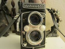 YASHICA 635 Twin lens , TLR 120/ 35mm  Film Camera
