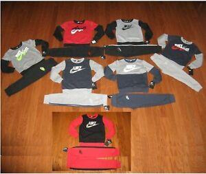 Nike Boys' 2-Pc. Sweatshirt & Pants Outfit Set Size 4 / 5 / 6/ 7  NWT