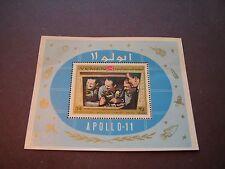 Yemen Stamp Souvenir Sheet Apollo 11 P1