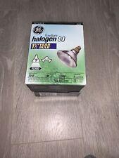 Halogen Outdoor Floodlight 90 Watt 2500 Hrs 1310 Lumens Brand New Lightbulb