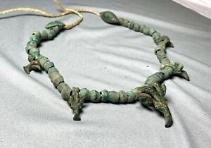 """The necklace with amulets """"Goat"""", Koban culture, XIII-IV centuries BC, jewelry."""