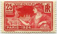"FRANCE STAMP TIMBRE YVERT 184 "" JEUX OLYMPIQUES  DE PARIS 1924 25c"" NEUF xx LUXE"