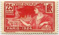 """FRANCE STAMP TIMBRE N° 184 """" JEUX OLYMPIQUES  DE PARIS 1924 , 25 C """" NEUF xx TTB"""