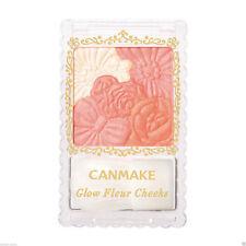 Canmake☀ 03 Fairy Orange Glow Fleur Cheeks Blush Powder with Brush Japan quality