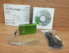 Genuine Fujifilm Finepix Z10FD 7.2MP Wasabi Lt. Green Digital Camera **READ**