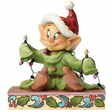 Disney Traditions 4057938 Light Up The Holidays Dopey Figurine
