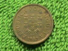 Portugal 1 Escudo 1982 Presque UNC `