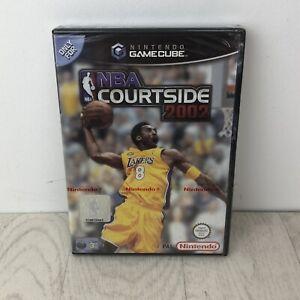 Gamecube NBA Courtside 2002, UK Pal, Brand New Nintendo Factory Sealed Some Wear