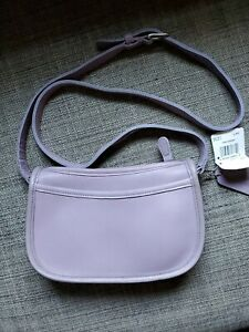 Vintage Coach Wendie Lavender Shoulder Bag 9031