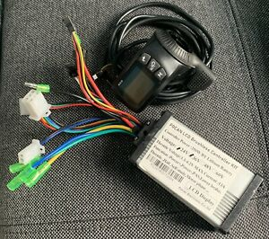 36V 350W Steuergerät Brushless Motor Controller LCD Display Für E Bike Scooter☯
