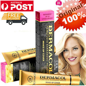 Original Dermacol Make-up Cover Legendary High Covering Foundation Makeup 30g🎄