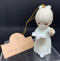 Precious Moments Once Upon A Holy Night Ornament Members Only, 1990