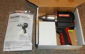 Craftsman 1/2 in. Impact Wrench - 875.168820 With Manual Nice Take a LOOK !!!!!!