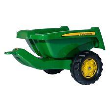 Rolly Toys John Deere Kipper II  Anhänger Kipper Trailer grün/gelb